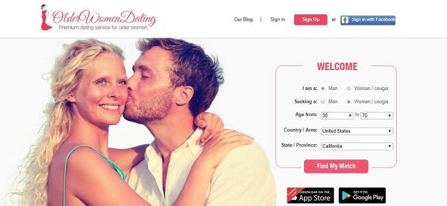 Best older women dating sites